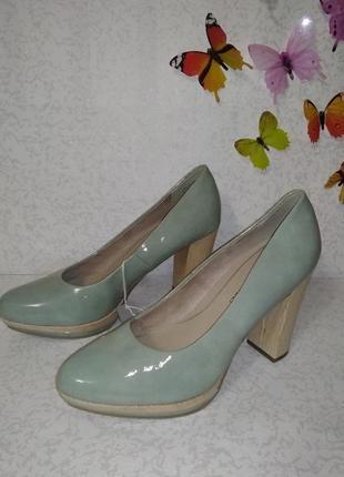 Туфли на каблуке marco tozzi (марко тоцци) 39р