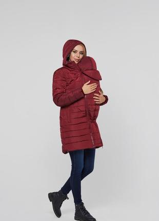 Слингокуртка 3в1, куртка для беременных lullababe - размер 48(xl)