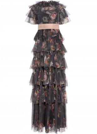 Needle & thread asos ексклюзивна пишна багатошарова сукня