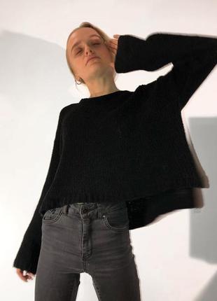 Мягкий плюшевый свитер