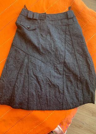 Шерстьяная юбка