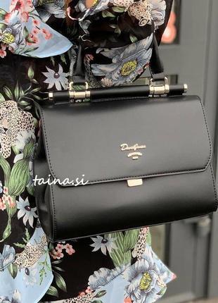 Черная сумка клатч david jones 5954-1t black оригинал