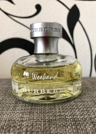 Оригинал burberry weekend 50 мл eau de parfum)))