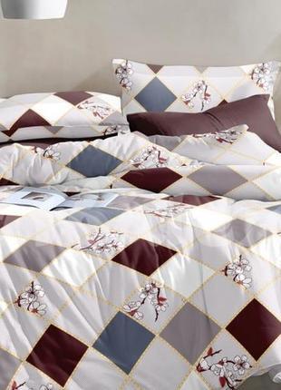 Комплекты постельного белья из сатина, хлопок 100%