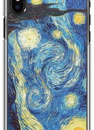Чехол iphone x в стиле ван гога