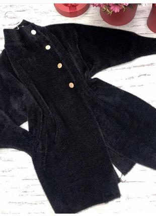 Пальто альпака ангора