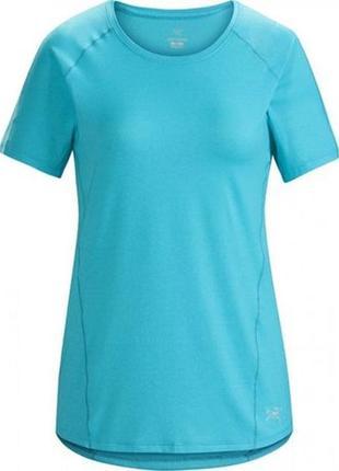 Спортивная футболка patagonia tolu top оригинальная голубая