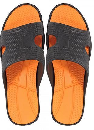 Пляжные шлепанцы для мальчика well. оранжевые.