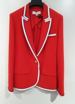 Нарядный красный пиджак ipekyol