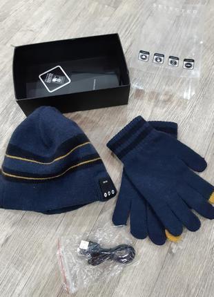 Шапка, перчатки