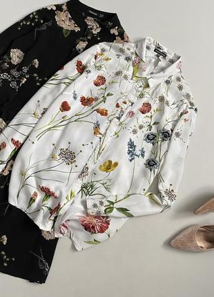 Идеальная цветочная рубашка warehouse