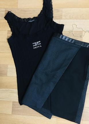 Комплект юбка/майка