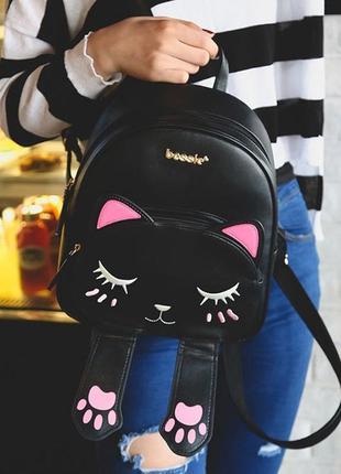 Модный женский рюкзак (милые рюкзаки с котятами для девочек)