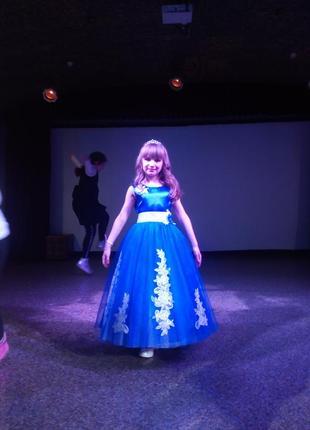 Пышное бальное платье