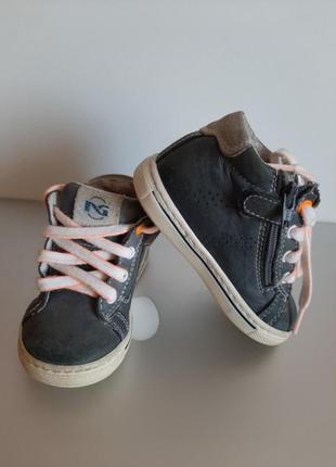 Итальянские кожанные ботинки