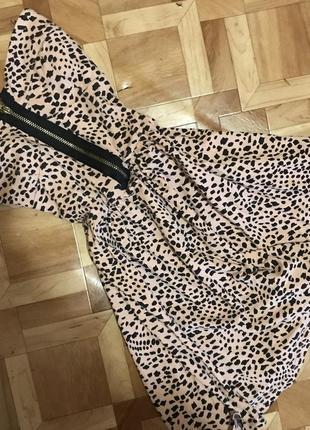 Крутая леопардовая блуза