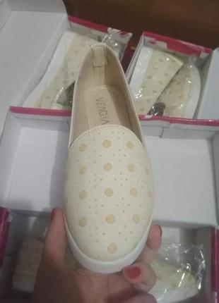 Мокасины балетки туфли