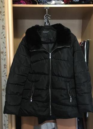 Куртка дутая парка пуховик пуффер зефир