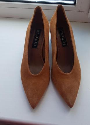Туфли uterque, кожа , 36,5 размер