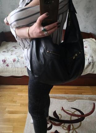 Огромная кожаная сумка f&f signature👜👜💥💥💥