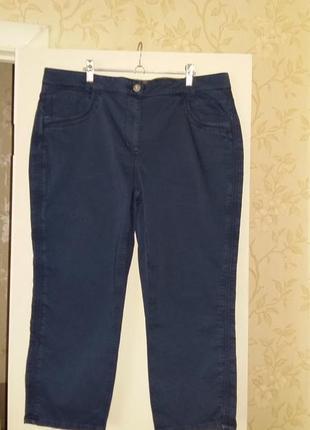Джинсы темно-синие, стрейчевые батал от немецкого бренда cecil