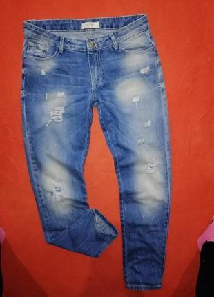 Стильные женские джинсы pimkie где-то на 38-40  в прекрасном состоянии