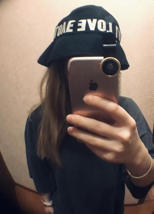 Модная фетровая шляпа-панама