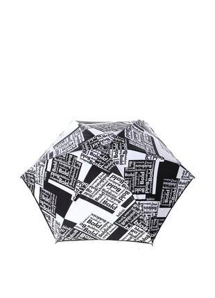 Женский механический зонт-мини 46 белый