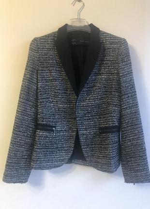 Піджак сірий  , люрексна нитки