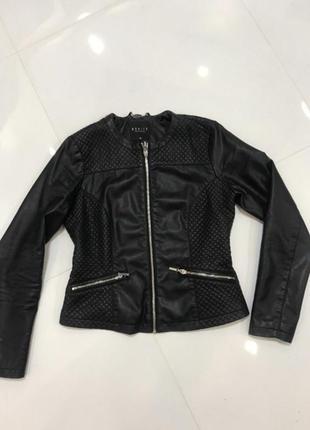 Куртка кожанка косуха байкерская дубленка