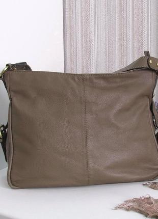 Большая сумка carpisa, италия, натуральная кожа