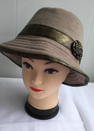 Шляпка шляпа женская новая