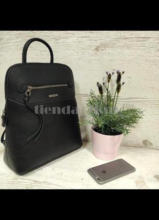 Стильный городской рюкзак david jones 6110-3t черный