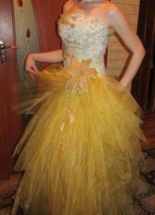 Выпускное платье . бальное платье