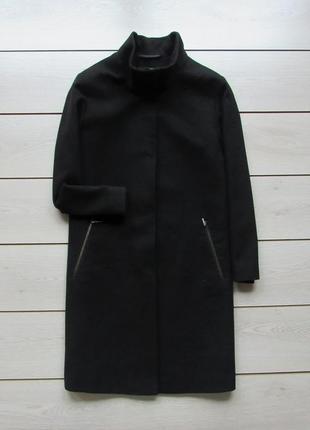 Стильное пальто прямого кроя на кнопках от marks & spencer