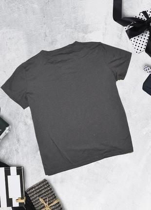 Чёрная футболка с розой primark2 фото