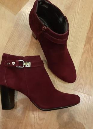 Alfani демисезонные ботинки, замшевые, новые, из сша 37 размер