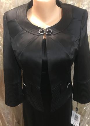 Комплект платье и болеро турция 36р