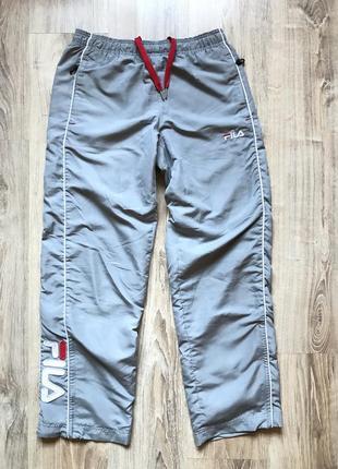 Винтажные спортивные штаны fila s