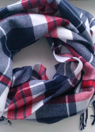 Новый шарф в клетку