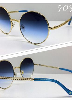 Стильные солнцезащитные очки кругляши