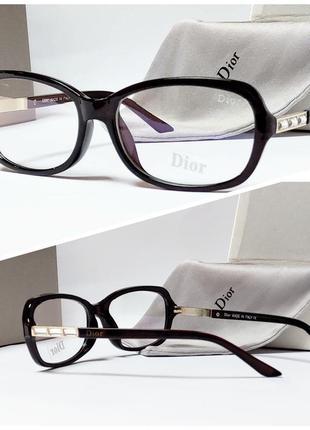 Очки для имиджа с защитной линзой от ультрафиолета