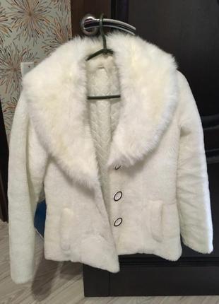 Шуба мех жилетка полушубок пальто куртка