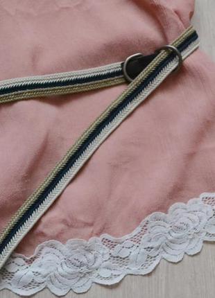 Плетеный пояс ремень