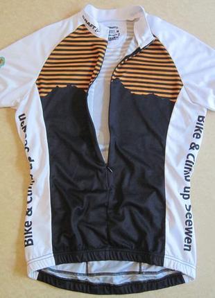 Женская вело футболка craft p.m
