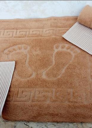 Коврик в ванную комнату прорезиненный коврик