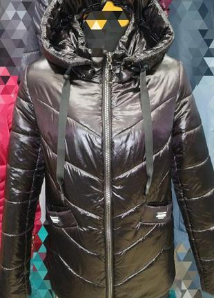 Стильная демисезонная куртка, размер 54