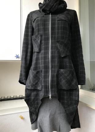 Дизайнерский жакет с кармашками на спине nor