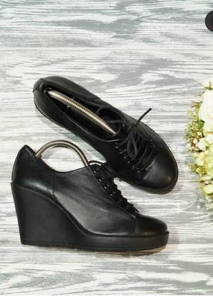 🌿37🌿европа🇪🇺 vagabond. кожа. фирменные туфли на платформе