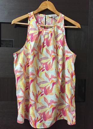 Блуза летняя peacocks размер 14 #42. 1+1=3🎁